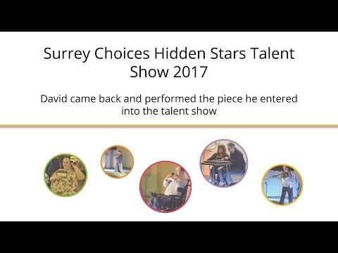 Surrey Choices Hidden Stars Talent Show Performance