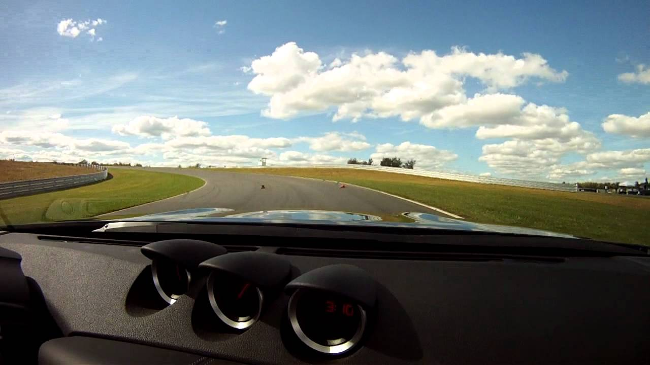 Monticello Motor Club >> 2013 Nissan 370Z Convertible, Track Test - YouTube