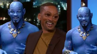 Will Smith Can't Stop Stuttering on Jimmy Kimmel