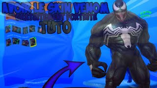 "HOW TO HAVE THE SKIN ""VENOM"" OF SPIDERMAN ON FORTNITE! [TUTO]"