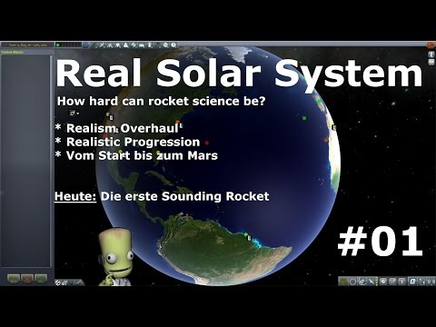 Real Solar System - KSP - Folge #01 - Sounding Rockets [deut
