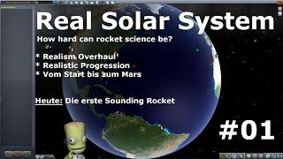 Real Solar System - KSP - Folge #01 - Sounding Rockets [deutsch/german]