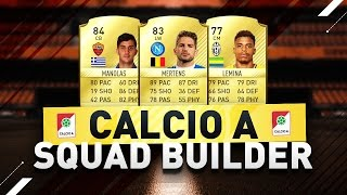 VERY EFFECTIVE FIFA17 CALCIO A LEAGUE SQUADBUILDER! WINNING IN DIVISION 1