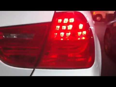 E90 LCI turn signal malfunction - YouTube