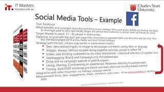 Free Short Course: Applied Social Media Marketing - Webinar 4