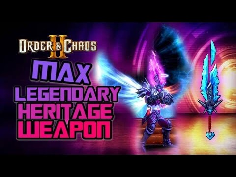 Order And Chaos 2: Redemption - Max Legendary Weapon Stages!