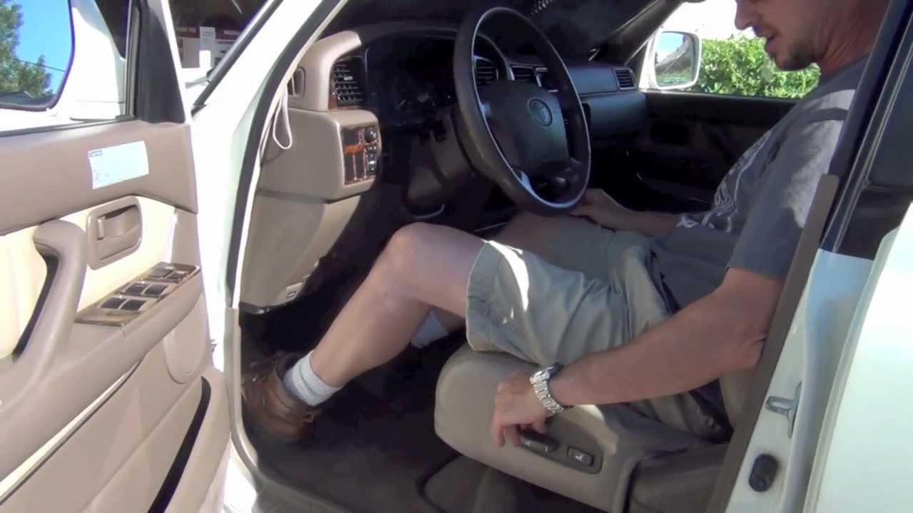 80s Land Cruiser Seat Button Fix Youtube