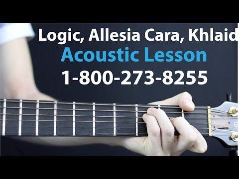 Logic, Alessia Cara, Khaled Acoustic Lesson - 1800