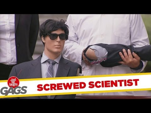 Screwed Robot Scientist Prank