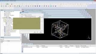 Mecánica y dinámica molecular usando Forcite en Materials Studio