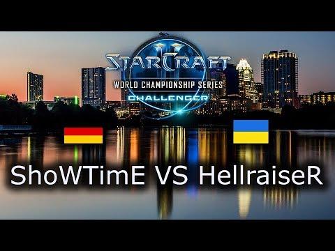 ShoWTimE VS HellraiseR - EU Open Qualifiers for Challenger WCS Austin 2018 - polski komentarz