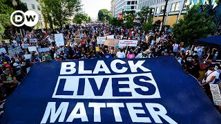 George Floyd: Massive turnout for US protests against racism | DW News