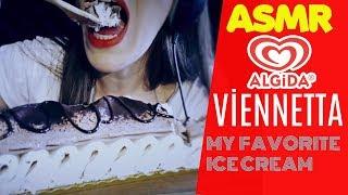 Türkçe ASMR | En Sevdiğim Dondurma = Algida Viennetta | My Favorite Ice Cream |  Eating Show