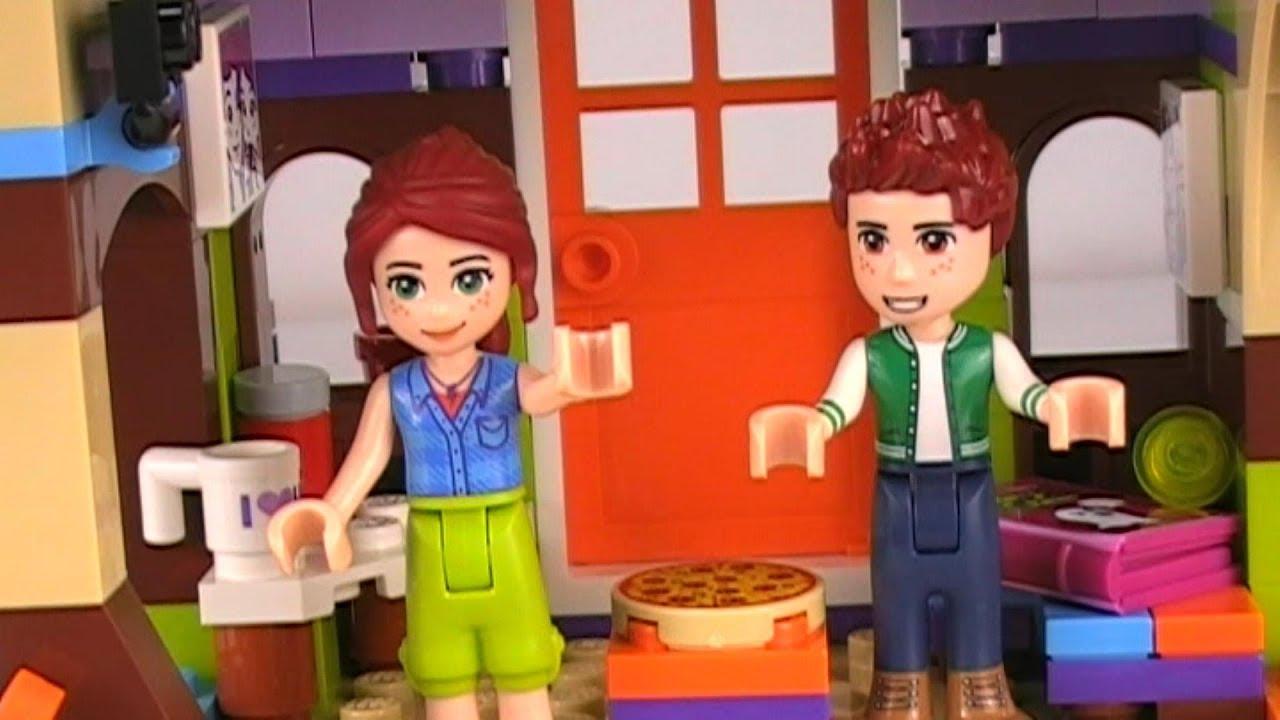 41335 Lego Friends Mias Tree House Build Comparisons Youtube
