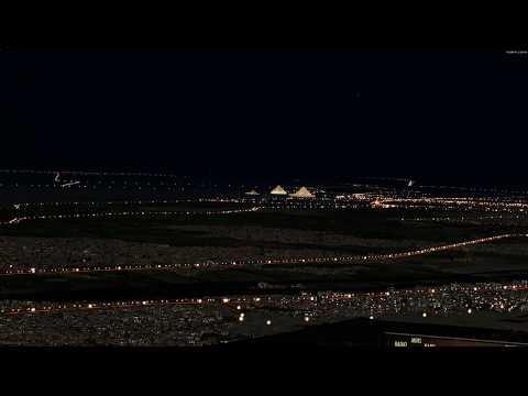 """[p3dv4.5]-pmdg-b772lr-""""air-france""""-landing-in-cairo-airport-(4k)"""