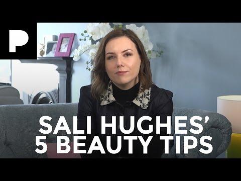 Sali Hughes' 5 Top Makeup Tips