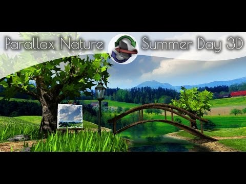 Parallax Nature: Summer Day Live Wallpaper for Android