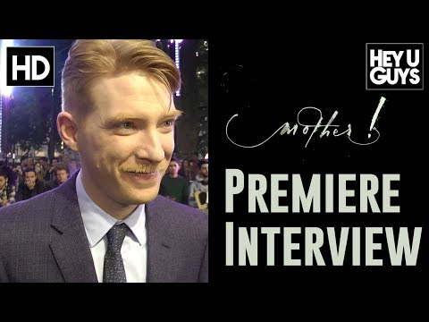 mother! Premiere - Domhnall Gleeson Exclusive Interview