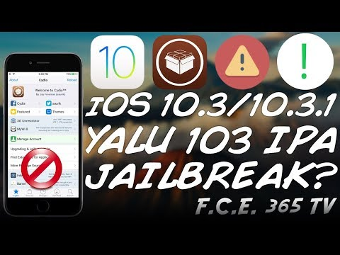 iOS 10.3 Yalu 103 Jailbreak IPA - Is It Safe / Real? (Jailbreak Warning!)