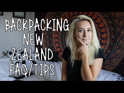 Backpacking New Zealand Tips/FAQ