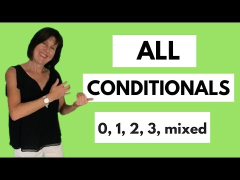 All conditionals in English - 0 1 2 3 and mixed - English grammar lesson