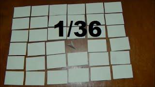 Как самому сделать модуль 1/36-ая для модульного оригами