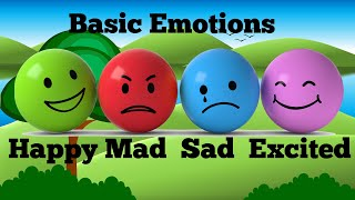 Learn and Practice: Basic Emotions