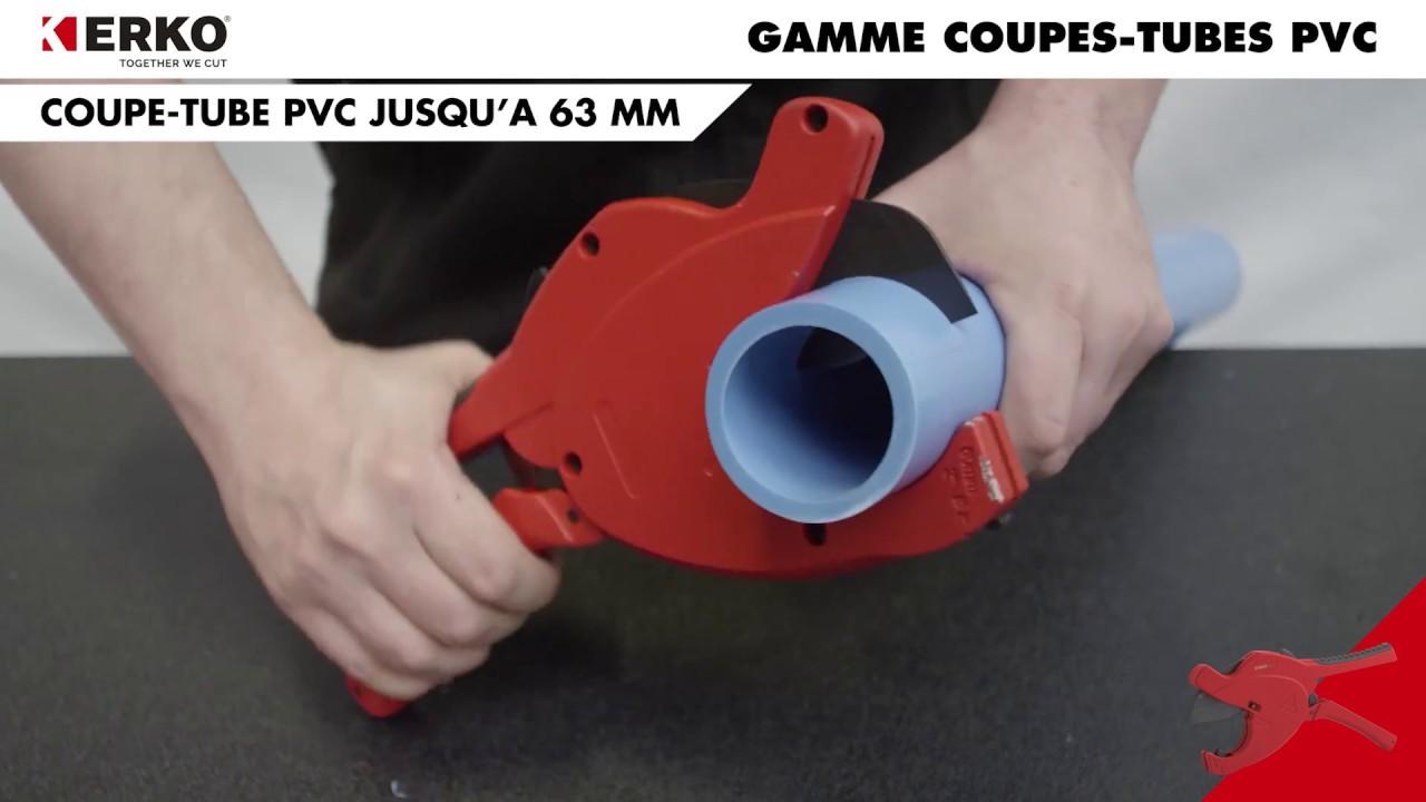 Erko Gamme Coupe Tube Pvc