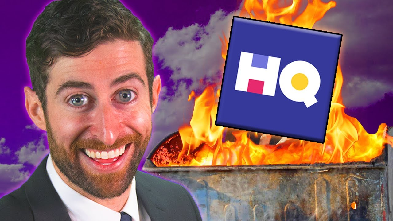 Download The Dumpster Fire Downfall of HQ Trivia