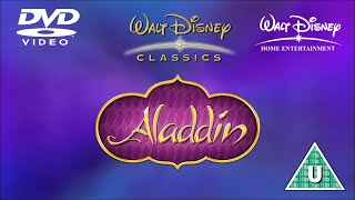 Opening to Aladdin: Special Edition UK DVD (2004)