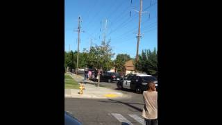 High speed chase on sonora st. Stockton ca
