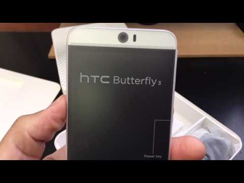 HTC BUTTERFLY 3 B830 Unboxing Video – in Stock at www.welectronics.com