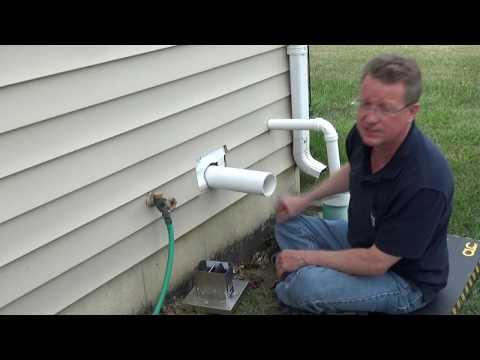 Radon Fan Installation