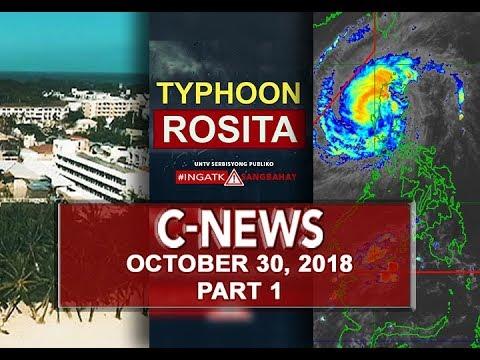 UNTV: C-News (October 30, 2018) PART 1