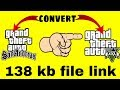 How to convert GTA San Andreas to GTA 5 in just 158kb file [must watch full video]