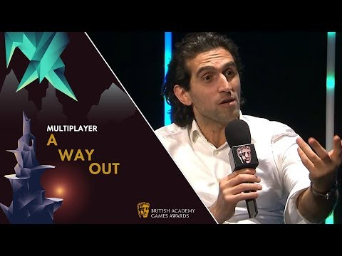 Josef Fares Knows His Next Game Will Win A BAFTA | BAFTA Games Awards 2019