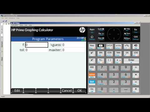 HP Prime - Programming & Newton's Method (Part 3)