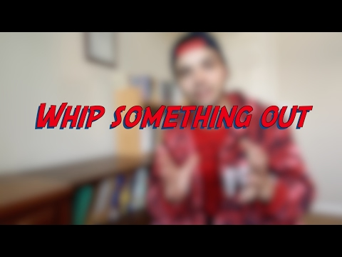 Whip something out - W26D3 - Daily Phrasal Verbs - Learn English online free video lessons