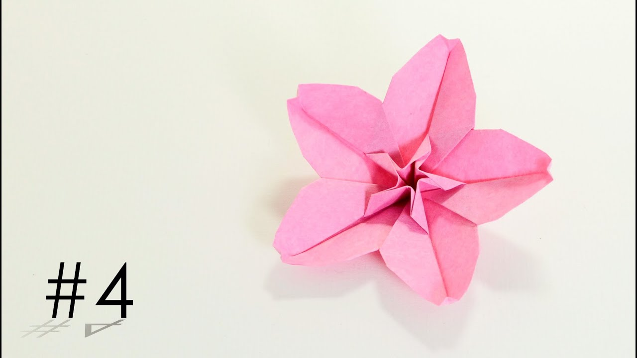 origami cherry blossom hoa anh đ224o hoang tien quyet