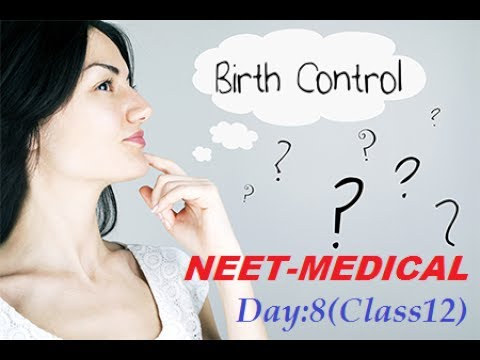 NEET SEXUAL REPRODUCTIVE HEALTH DAY 8 CLASS 12