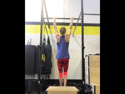 Eccentric Only Pull-Ups