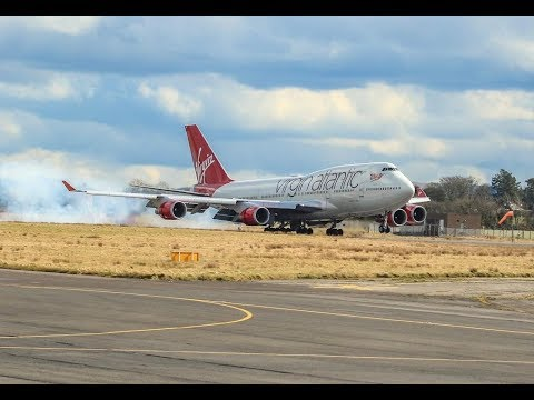 Virgin Atlantic VS161 into Belfast International Airport