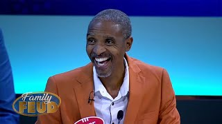 Old School vs. New School! Steve says they are the best dressed men in Africa! | Family Feud Africa