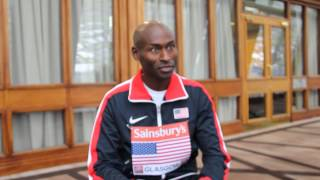USA captain Bernard Lagat shares his thought