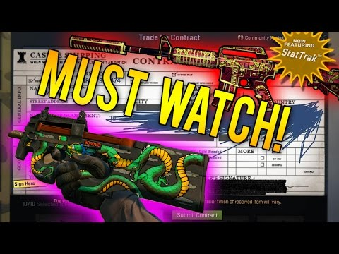 BIGGEST Crafting Rarest Skins Video Ever! (35 CS:GO Trade Ups)