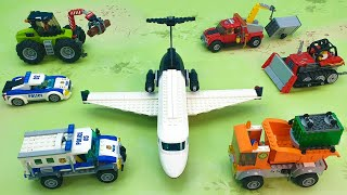 Мультики про машинки - Мультфильмы для детей с игрушками - Поезд Грузовик Самосвал train police 2021
