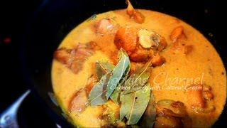 Jn Curry Chicken With Coconut Cream