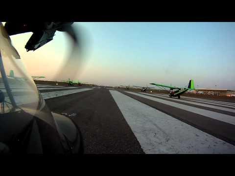 Maputo takeoff for Inhaca Island