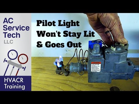 TOP 10 Reasons Why the Gas Pilot Light Goes Out & Won't Stay Lit!
