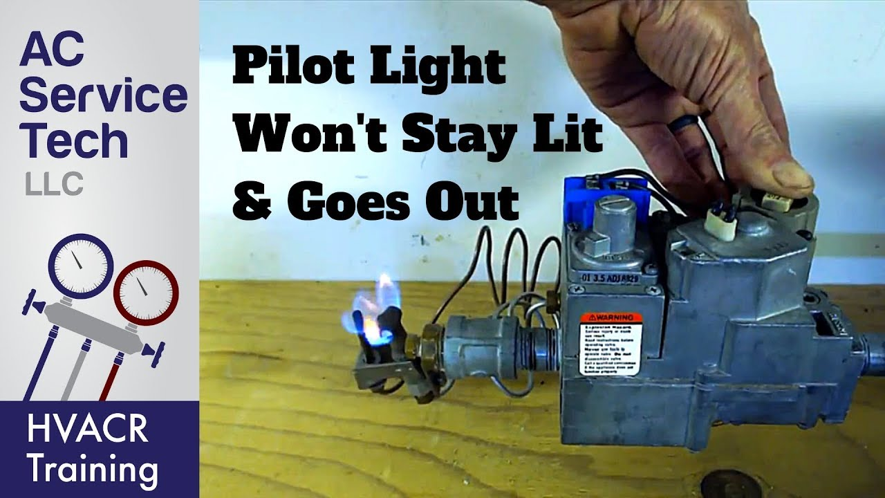 Top 10 Reasons Why The Gas Pilot Light Goes Out Won T Stay Lit
